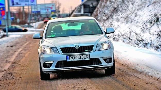 Sroga zima nie robi większego wrażenia na Skodzie. Samochód nie sprawia najmniejszych problemów. /Motor
