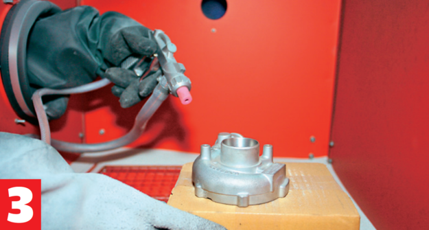 śrutowanie i szkiełkowanie /Motor