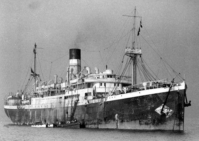 """SS """"City of Cairo"""" przed wybuchem wojny /domena publiczna"""