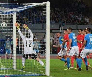 SSC Napoli - Benfica Lizbona 4-2 w 2. kolejce Ligi Mistrzów