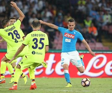 SSC Napoli - Bologna FC 3-1. Dwa gole Arkadiusza Milika