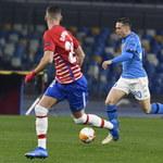 SSC Napoli - Granada CF 2-1 w 1/16 Ligi Europy. Gol Zielińskiego, awans gości