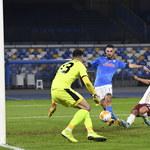 SSC Napoli - HNK Rijeka 2-0 w 4. kolejce fazy grupowej Ligi Europy