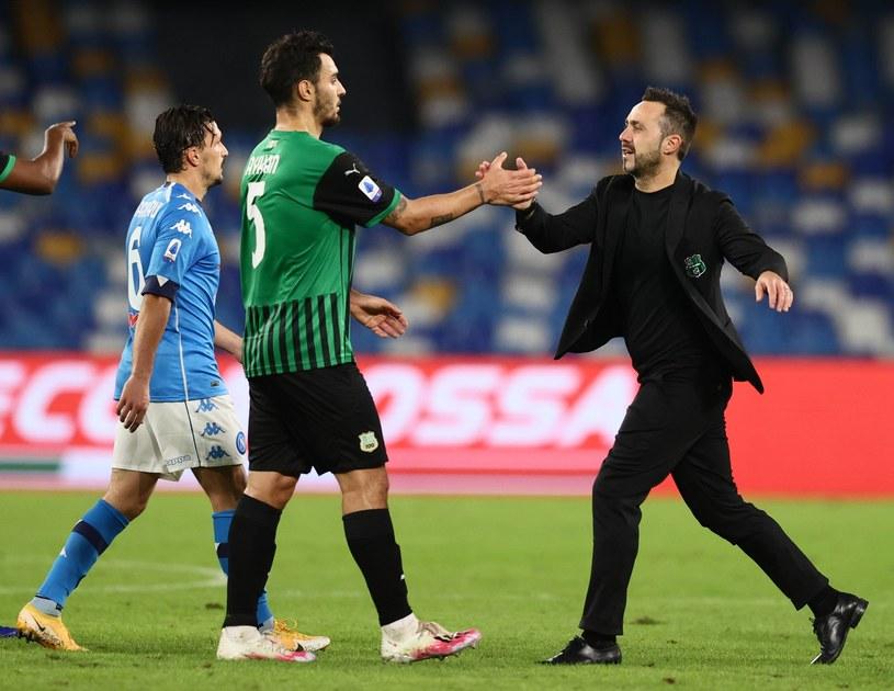 SSC Napoli kontra Sassuolo /ZUMA/NEWSPIX.PL /Newspix