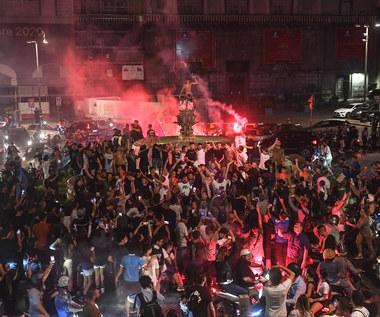 SSC Napoli. Szalona radość kibiców po triumfie w Pucharze Włoch