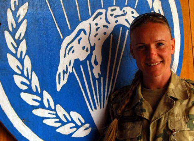 St. kpr. Beata Karkocha jest dowódcą drużyny szturmowej w 6. batalionie powietrznodesantowym w Gliwicach /K. Szal /INTERIA.PL