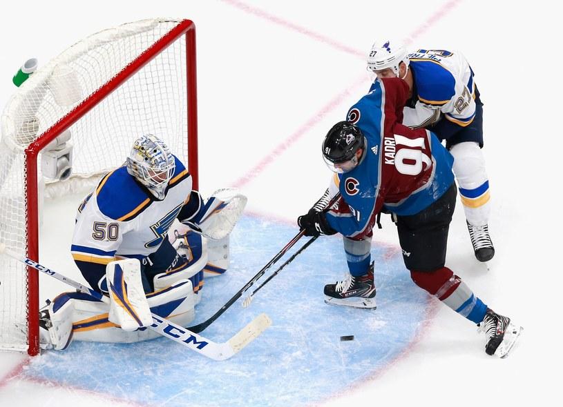 St. Louis Blues przegrali z Colorado Avalanche /AFP
