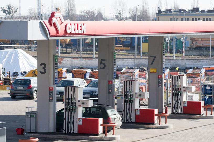 Stacja benzynowa PKN Orlen /Wojciech Stróżyk /Reporter