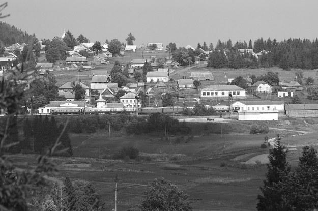 Stacja kolejowa Sianki: przez nią przechodziły produkty przemysłu drzewnego doliny górnego Sanu /Waldemar Bałda /INTERIA.PL