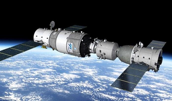 Stacja kosmiczna Tiangong-1 /materiały prasowe