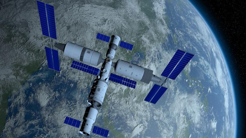 Stacja kosmiczna Tiangong /materiały prasowe