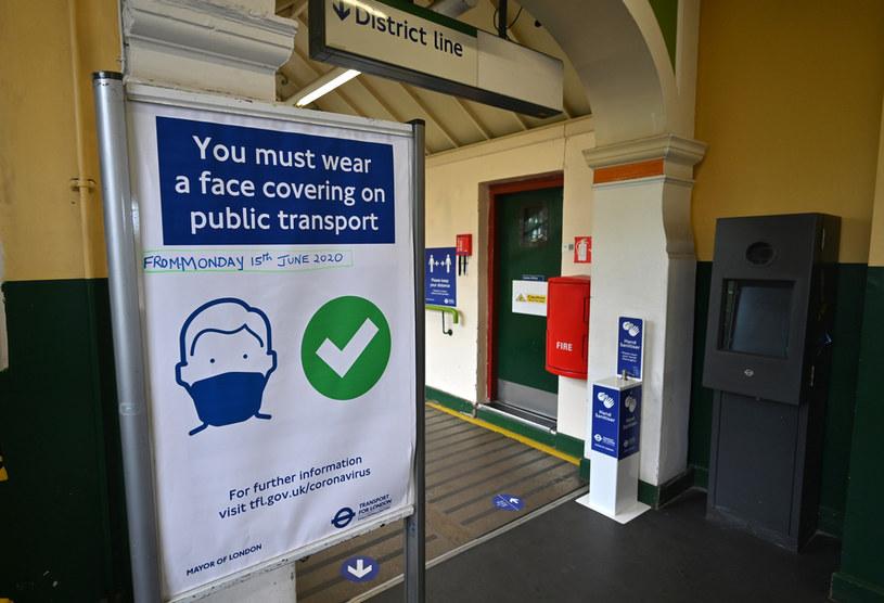 Stacja londyńskiego metra /AFP