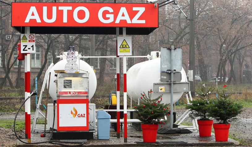 Stacja LPG /Fot. Stanislaw Kowalczuk /East News