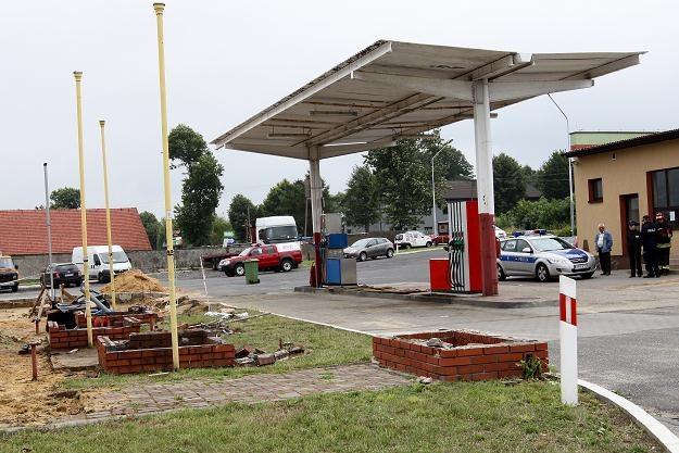 Stacja, na której doszło do wybuchu /PAP