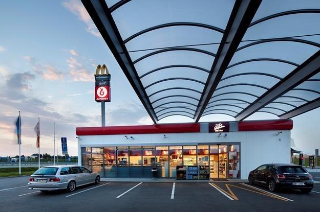 Stacja paliw spółki Benzina w Czechach (Grupa Orlen) /Informacja prasowa