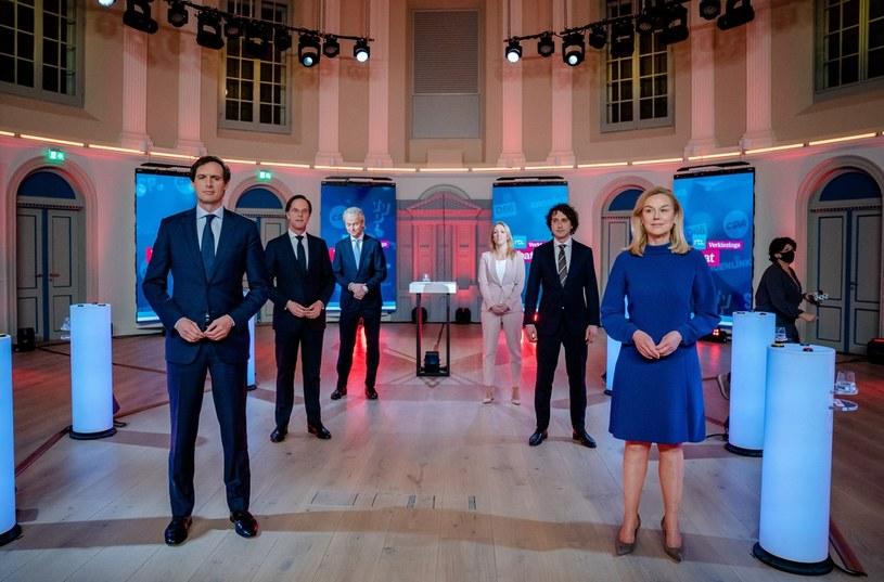 Stacja RTL zaprosiła do udziału w debacie liderów sześciu największych partii /AFP