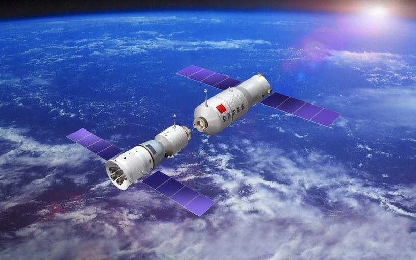 Stacja Tiangong-2 spadnie na Ziemię /materiały prasowe