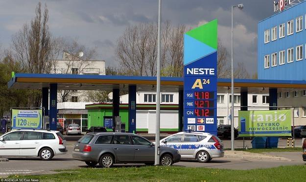 Stacje Neste znikneły z polskiego rynku paliwowego. Fot. MARIUSZ GRZELAK /Agencja SE/East News