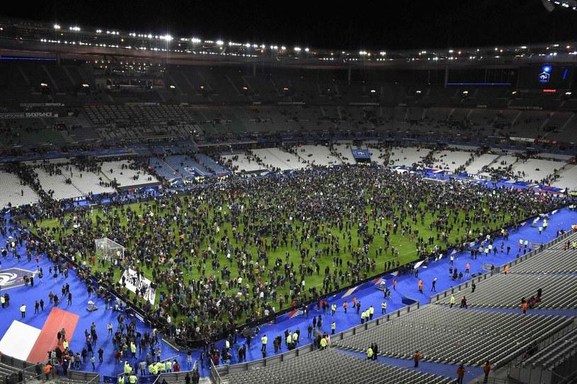 Stade de France podczas listopadowych zamachów /AFP
