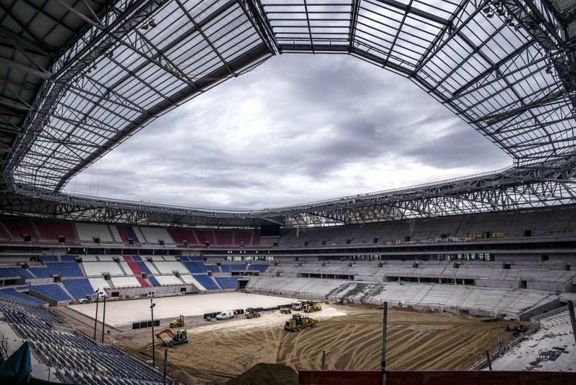 Stade des Lumieres w Lyonie jest jeszcze w trakcie budowy /AFP
