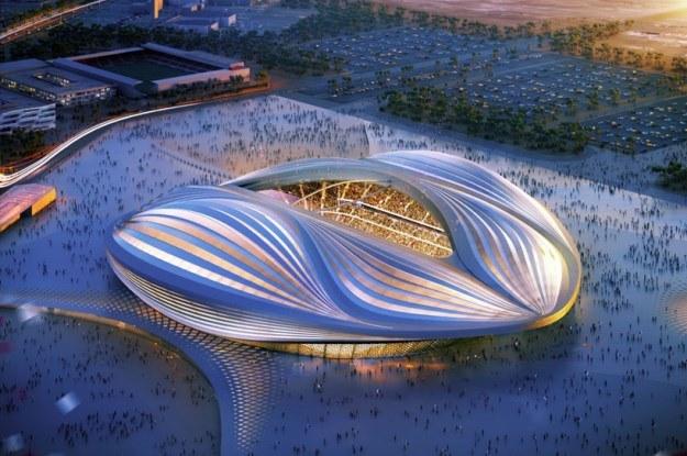 Stadion Al-Wakrah to owoc prac studia Zaha Hadid Architects i firmy AECOM /materiały prasowe