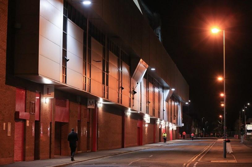 Stadion Anfield Road w Liverpoolu /OFFSIDE/NEWSPIX.PL /Newspix