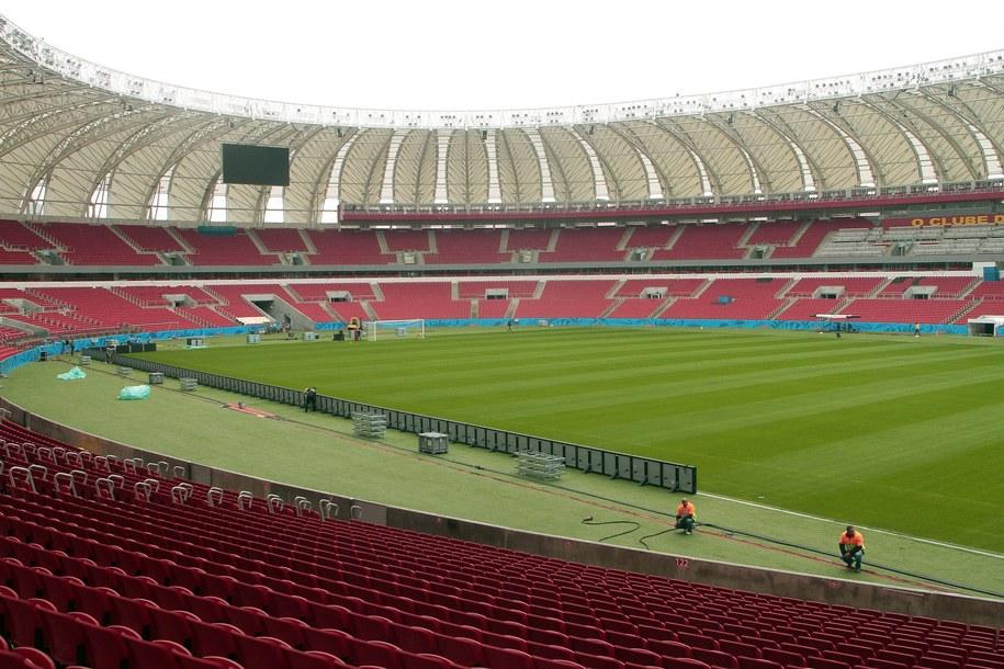 Stadion Beira Rio - jedna z aren tegorocznych piłkarskich MŚ /NecoVarella /PAP/EPA