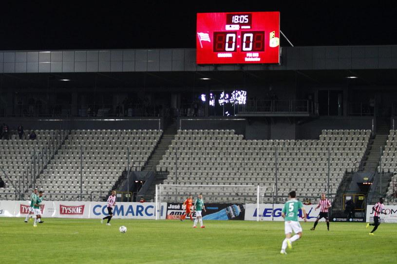 Stadion Cracovii obecnie /