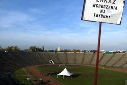 Stadion Dziesięciolecia ma zostać zastąpiony nowoczesnym Stadionem Narodowym, fot: Maciej Śmiarowski /Agencja Przegląd Sportowy