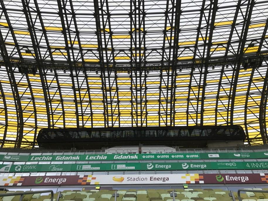 Stadion Energa Gdańsk /Kuba Kaługa /RMF FM