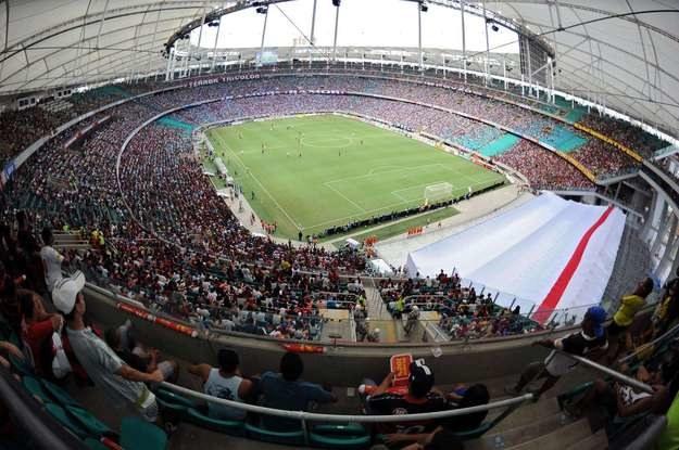 Stadion Fonte Nova w Salvador de Bahia /AFP