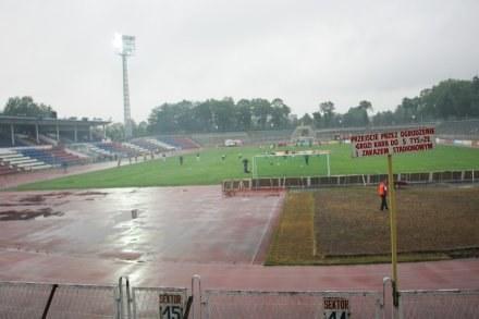 Stadion Górnika Zabrze powoli staje się coraz nowocześniejszy Fot. Jerzy Kleszcz /Agencja Przegląd Sportowy