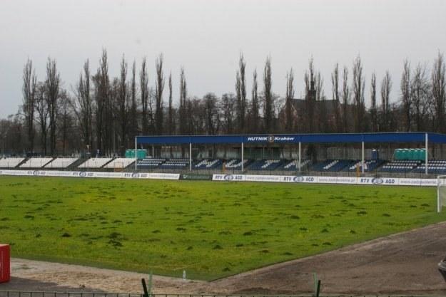 Stadion Hutnika 2009 r. /