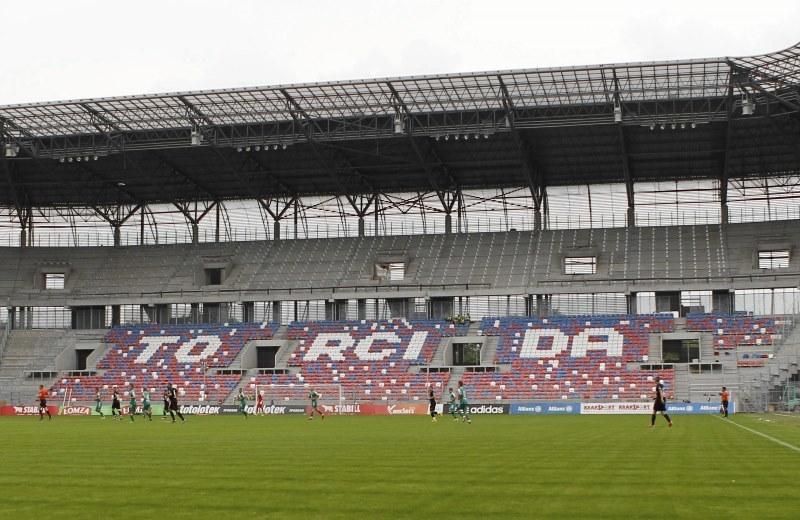 Stadion im. Ernesta Pohla w Zabrzu /Jan Kowalski /Agencja Gazeta