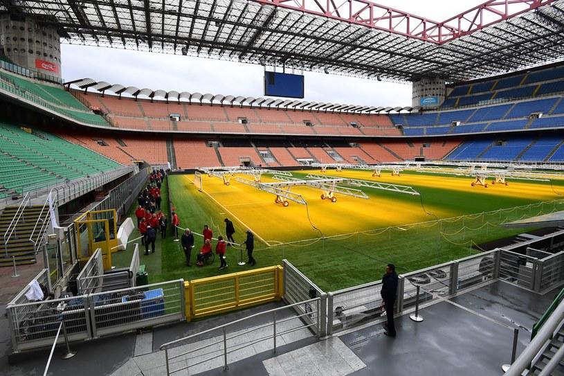 Stadion im. Giuseppe Meazzy, znany także jako San Siro /AFP