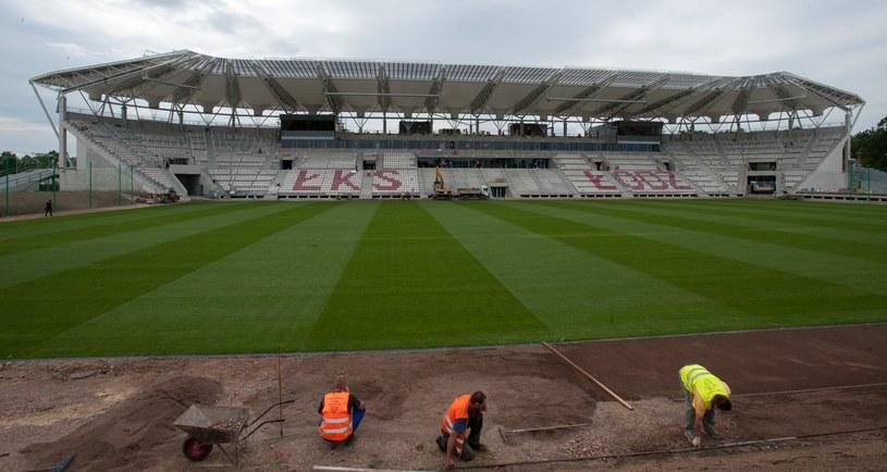 Stadion ŁKS-u jest rozbudowywany /ANDRZEJ ZBRANIECKI /East News