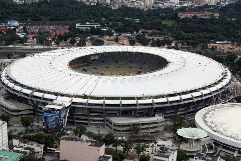 Stadion Maracana - to tu odbędzie się finał mundialu w Brazylii /AFP
