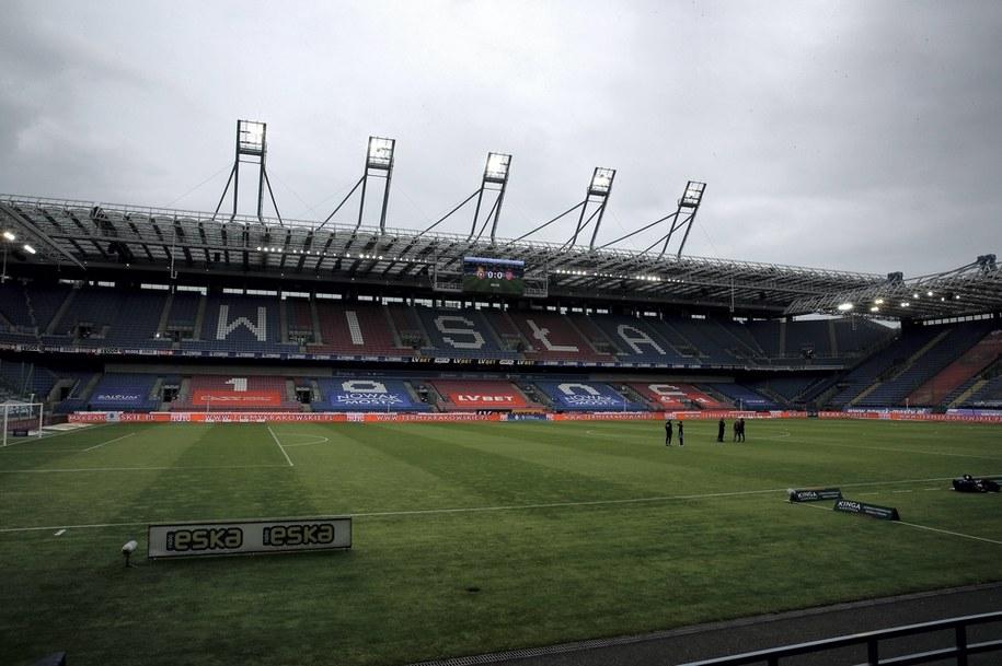 Stadion Miejski im. Henryka Reymana w Krakowie /Łukasz Gągulski /PAP