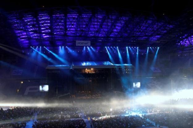Stadion Miejski w Poznaniu będzie jedną z aren Euro 2012 Fot. Adam Ciereszko /PAP