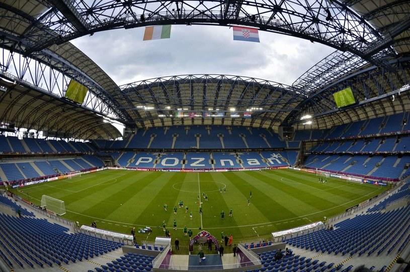 Stadion Miejski w Poznaniu /AFP