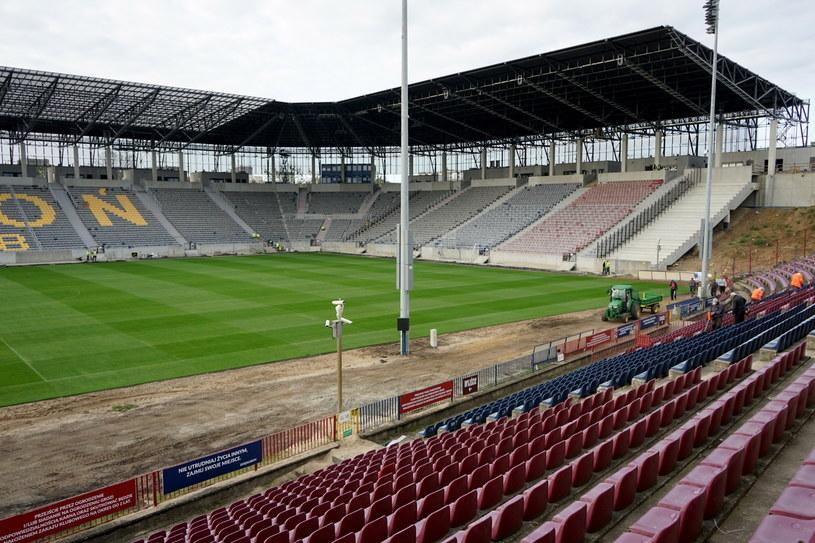 Stadion Miejski w Szczecinie im. Floriana Krygiera /Marcin Bielecki /PAP