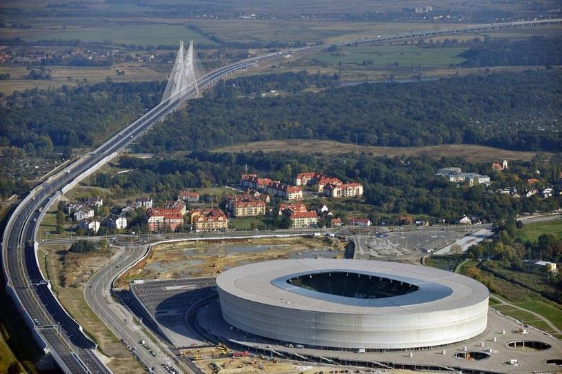 Stadion Miejski we Wrocławiu /AFP