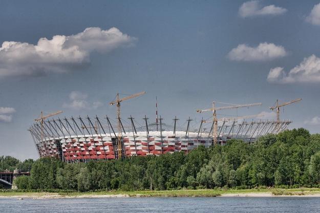 Stadion Narodowy - arena futbolowych mistrzostw Europy. Fot. Michal Dyjuk /Reporter