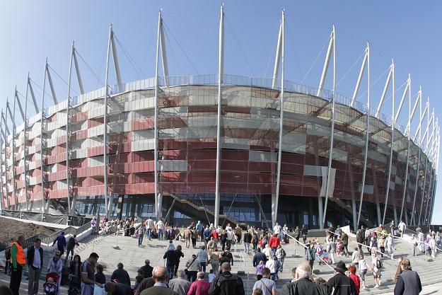 Stadion Narodowy ma zostać oddany do użytku pod koniec listopada Fot. Bartłomiej Zborowski /PAP