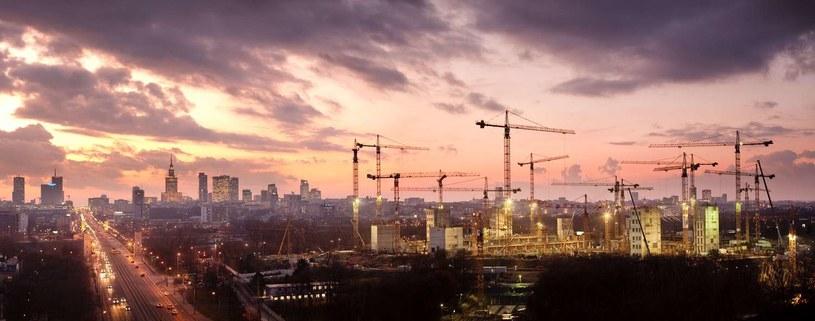 Stadion Narodowy w budowie, tak wyglądał w listoipadzie 2009 roku. /AFP