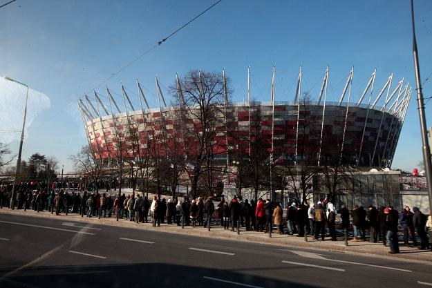 Stadion Narodowy w Warszawie Fot. Tomasz Gzell /PAP