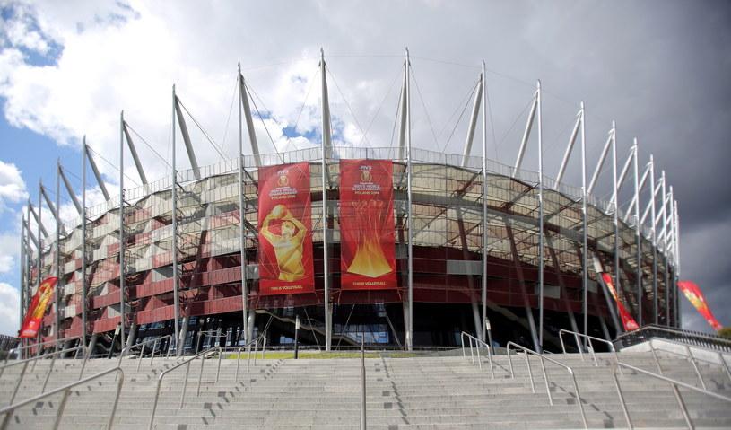 Stadion Narodowy w Warszawie gotowy do inauguracji siatkarskich MŚ /Leszek Szymański /PAP