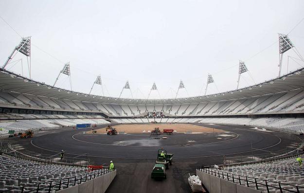 Stadion Oimpijski w Londynie /AFP