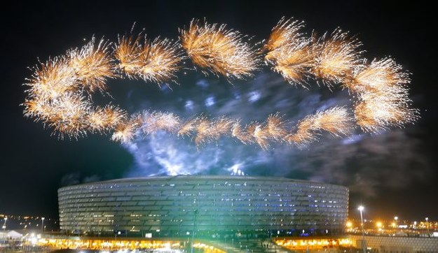Stadion Olimpijski w Baku /PAP/EPA