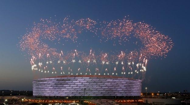 Stadion Olimpijski w Baku /ROBERT GHEMENT /PAP/EPA